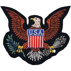 Patch- USA Eagle Logo: perrets.com