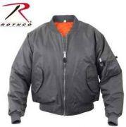 973f8297c4348 Rothco MA-1 Jacket-Gun Metal